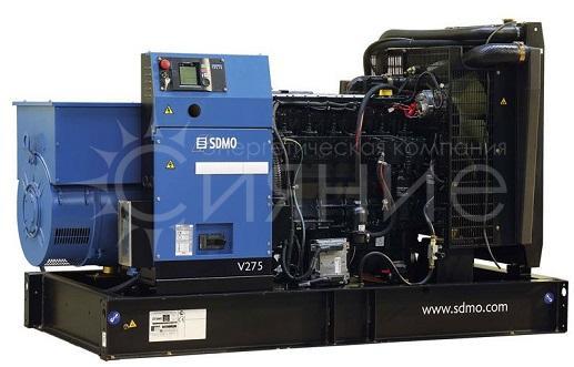 SDMO V330K. Открытое исполнение