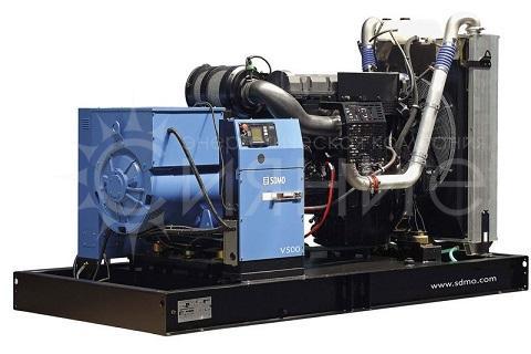 SDMO V550C2. Открытое исполнение