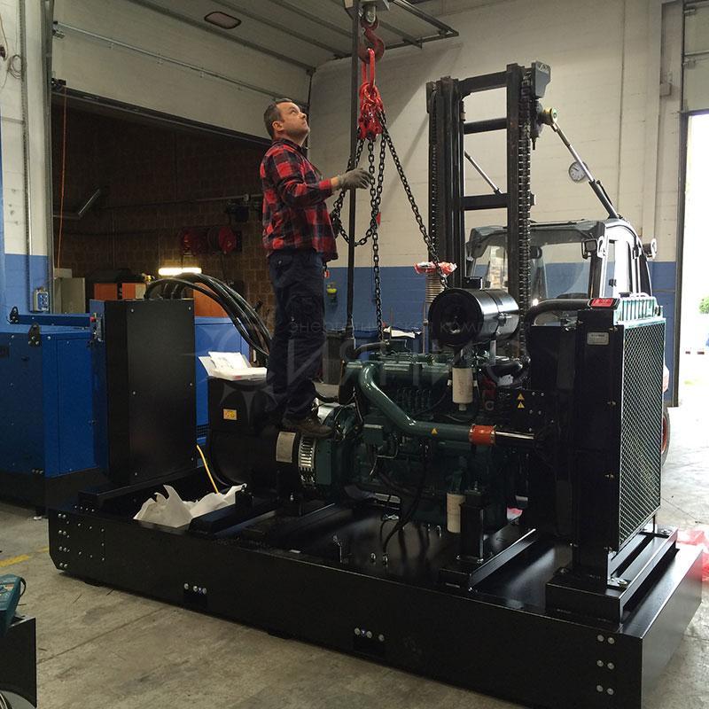 Ремонт дизельных двигателей и генераторов (электростанций)