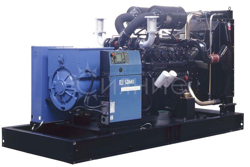 SDMO D550. Открытое исполнение