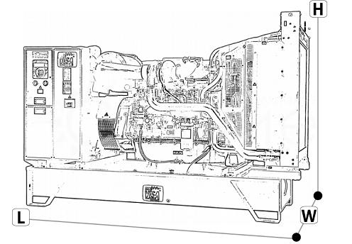 Onis Visa F 130 B. Открытое исполнение