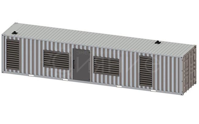 FG Wilson P1500E1. В контейнере