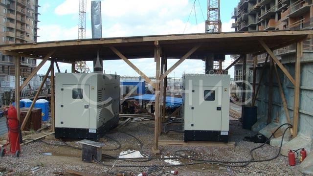 Более 2000 кВт запущенных в  эксплуатацию ДЭС на объектах Строительной компании «Петрострой» в Северо-Западном регионе