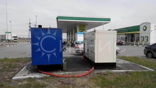 Обслуживание более 50 дизельных электростанций на АЗС «ТНК-ВР» в Северо-Западном регионе относящихся на сегодняшний день к компании ООО «РН Северная столица»